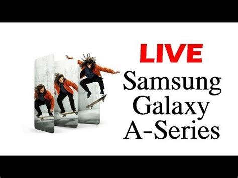 Samsung Galaxy A80 Launch Event by Samsung Galaxy A Series A90 A80 A70 A40 Live Launch Event A Samsung Event Live