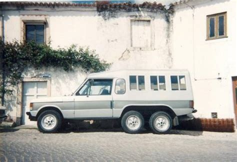 before the mercedes g63 amg 6x6 there was the six wheeled
