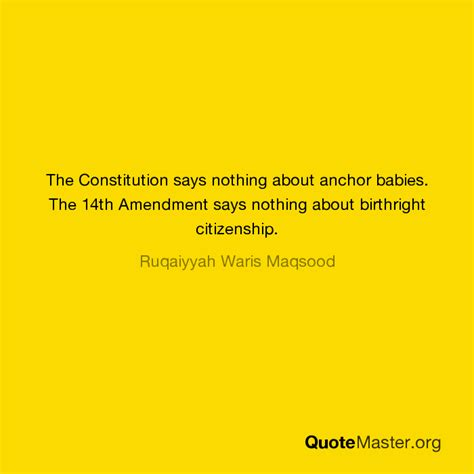 anchor babies birthright citizenship and the 14th amendment the constitution says nothing about anchor babies the