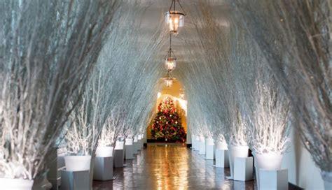 witte huis kerst het witte huis wordt ijspaleis met melania trumps