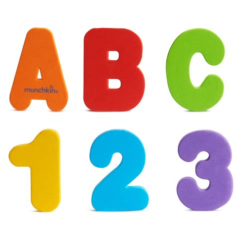 letter to number learn bath letters numbers primary 36 count