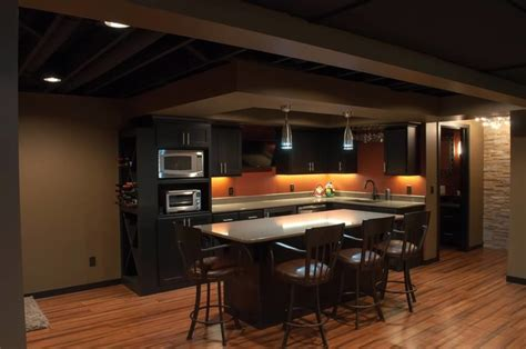 Schubbe Basement remodel   Traditional   Basement   minneapolis   by DEICHMAN CONSTRUCTION
