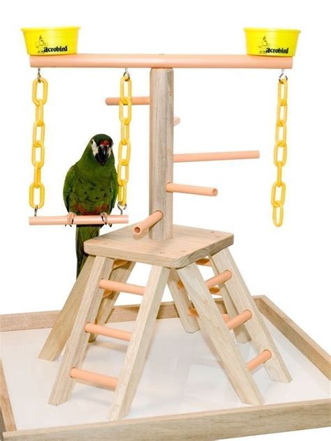 Bird L Base by Parrot Pet Bird Playland Table Top Perch Play 20 Quot Ebay