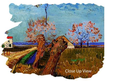 willows and path mural path through a field with willows by gogh classic 3 panel canvas 3 panel set canvas