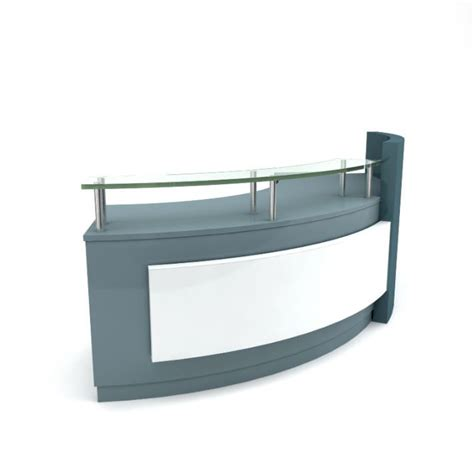 Grey Reception Desk with Gray Reception Desk Grey Modern Table Reception Desk 11 Am89 3d Model Cgtrader Everyday Glass