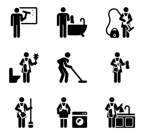 cleaning home 48 cleaning icon packs vector icon packs svg psd png