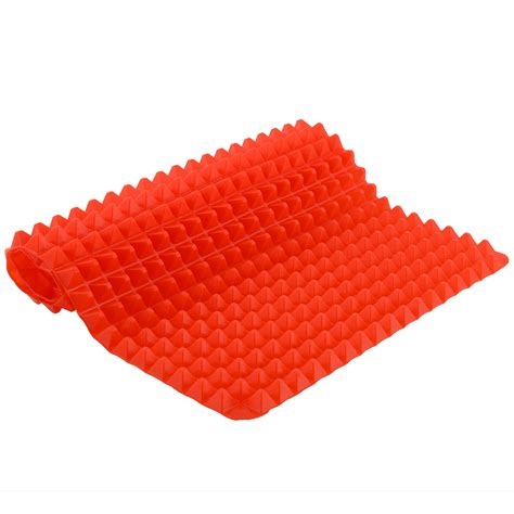 Silicone Mats For Cooking by New Durable Pyramid Pan Non Stick Silicone Cooking Mat