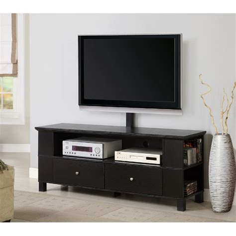 entertainment center with tv mount walker edison 60 wood tv console for flat screen tvs up to