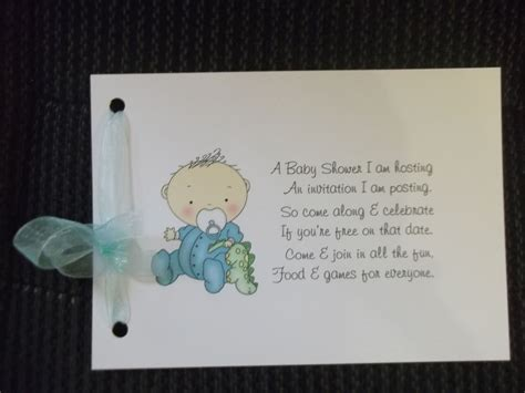 Baby Shower Poems by Baby Shower Invitation Poems