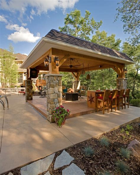 Covered Gazebos For Patios Gazebo With Character Traditional Patio Minneapolis By Southview Design