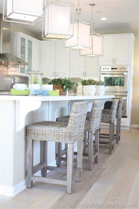 bar stool chairs for the kitchen 1000 ideas about rattan bar stools on pinterest bar