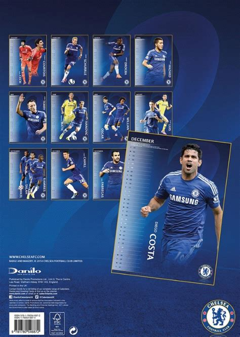 official chelsea 2016 calendar chelsea fc calendars 2016 on europosters