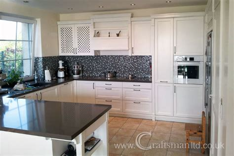 Refurbished Kitchen Cabinets Does Your Kitchen Need A Makeover Kitchen Doors Spray Painted With A New Finish By