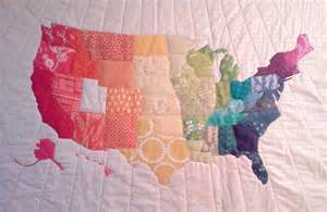 us map quilt quilts project