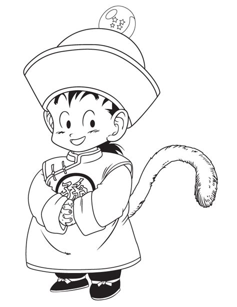 dragon ball z baby coloring pages free coloring pages of gohan dragon ball z kai