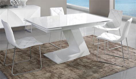 Table Salle à Manger Extensible by Table 224 Manger Extensible Blanc Laqu 233 Design Arta