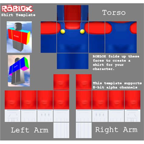 roblox clothes template image gallery roblox template