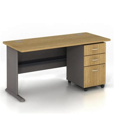 Computer Desk With File Drawer by Bbf Series A 60 W 3 Drawer File Cabinet Light Oak Computer