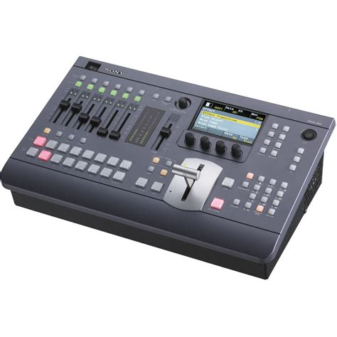 sony mcs8m compact audio mixing switcher mcs 8m b h