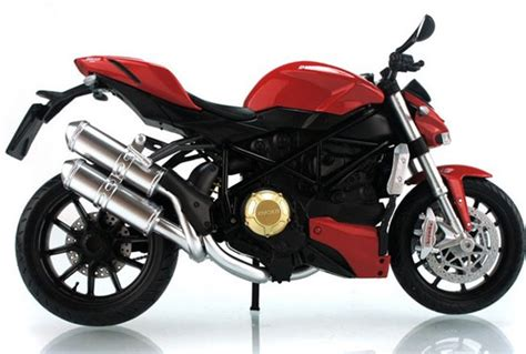 Kacamata Scaple Black Ducati white black 1 12 scale ducati streetfighter motorcycle mc03b013 ezmotortoys