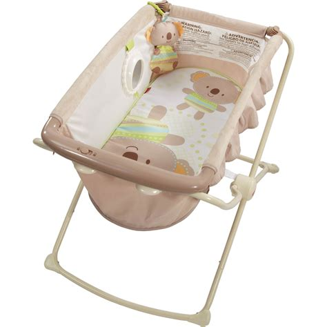 Elevated Sleeper For Baby by Fisher Price Deluxe Rock N Play Bassinet Bassinets
