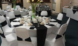 black and white themes and decor black and white wedding decor decoration