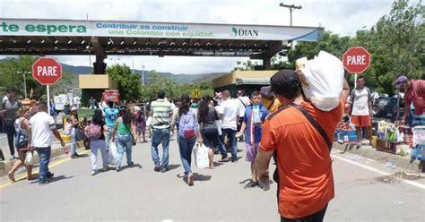 imagenes frontera venezuela colombia frontera colombia venezuela se abrir 225 usando c 233 dulas