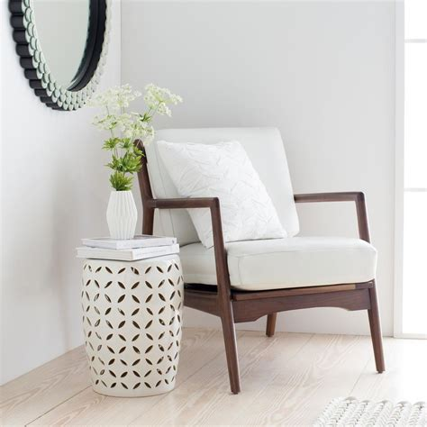 Ivory Garden Stool by Artistic Weavers Uwori Denim Stool S00151093415 The Home