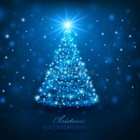 magischer weihnachtsbaum vektor abbildung illustration