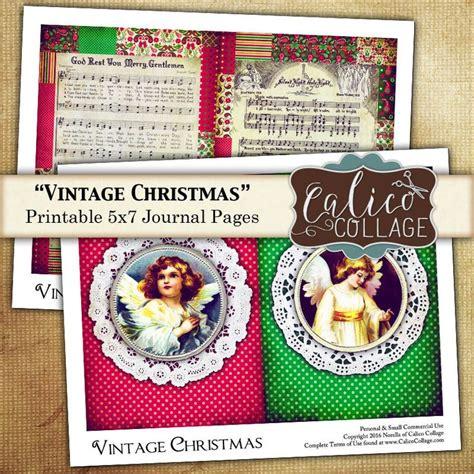 printable christmas journal 62 best printable journal kits images on pinterest