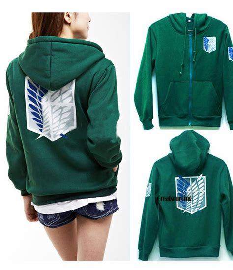 Promo Sweater Attack On Titan 3 2017 attack on titan hoodies sweatshirts coat japan anime eren levi hoodies