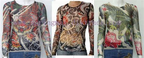 skin tight tattoo clothing of tshirts stylish neck co ltd