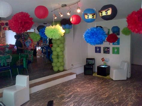 1000 images about decoracion fiesta infantil ninjago on pinterest mesas fantasia and salons