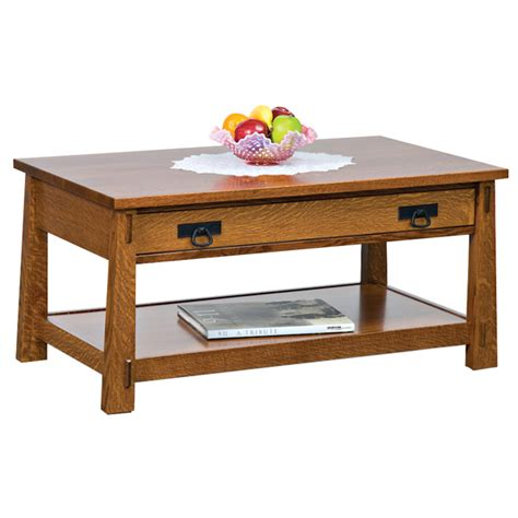 modesto enclosed lift top coffee table amish coffee