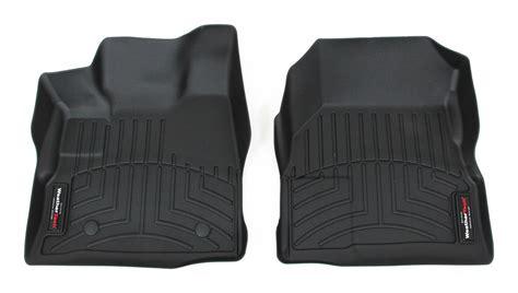 2016 chevrolet equinox weathertech front auto floor mats black
