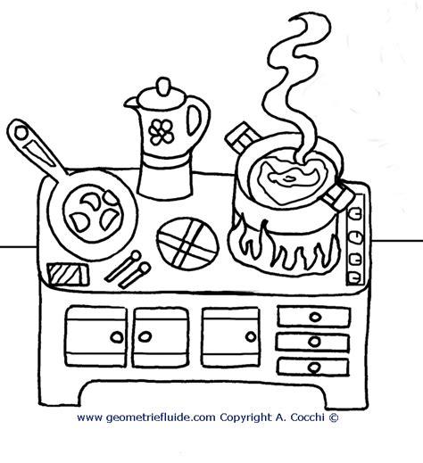 scuola di cucina gratis cucina da colorare