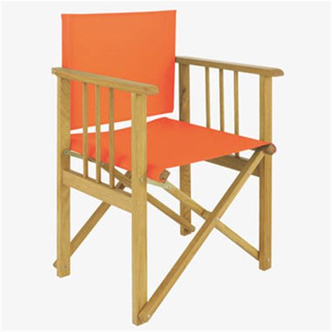 Orange Chair And A Half by Director S Chair Orange Ten And A Half Thousand Things