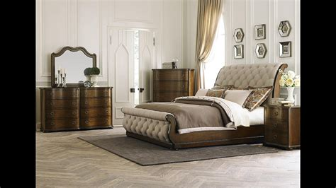 cotswald upholstered sleigh bedroom set  liberty furniture home gallery stores youtube