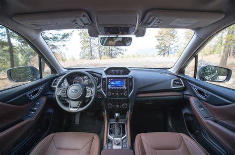 2019 Subaru Forester Interior by Subaru Forester 2019 Review Autocar