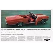 1965 Chevrolet Impala Convertible Ad Photo Picture