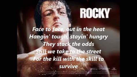 rocky theme music youtube rocky theme song lyrics youtube