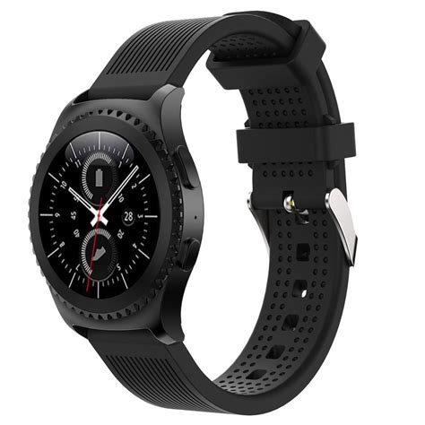 New Arrival Samsung Gear S3 Active Silicon Black Original Prom new arrivals fashion sports silicone bracelet band for samsung gear s2 classic 732 sturdy