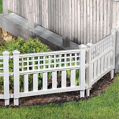 decorative garden fence 14 best images about flower bed fence ideas on pinterest