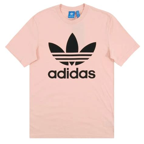Original Lois Sleeve Tshirt 9nwoid adidas originals original trefoil t shirt vapour pink mens clothing from attic clothing uk