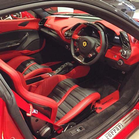 ferrari custom interior instagram post by matt parker mjparker1804 ferrari