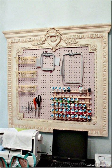 Sewing Room Pegboard Ideas by 25 Unique Pegboard Craft Room Ideas On Craft Organization Craft Room Design And