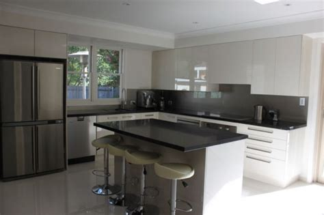 Dark Kitchen Ideas glass splashbacks melbourne kitchen splashbacks tiles