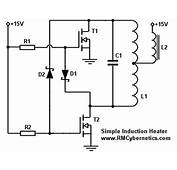 Simple DIY Induction Heater Circuit  RMCybernetics