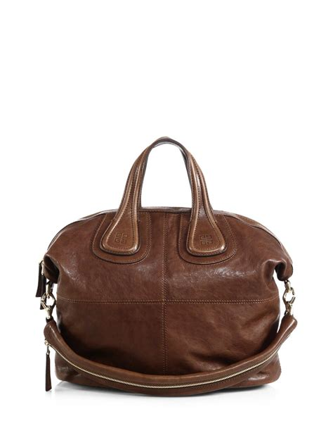 Best Seller Givenchy Nightingale givenchy nightingale medium satchel in brown medium brown lyst