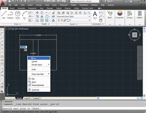 autocad tutorial quick learn autocad 2012 video tutorial how to use the quick